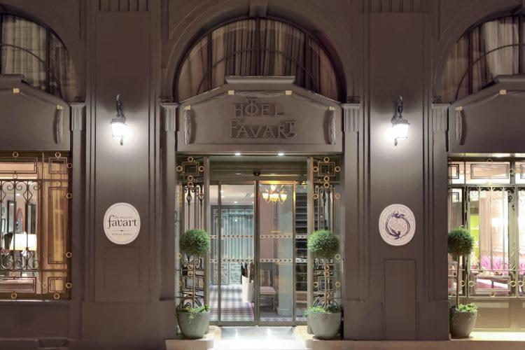 HOTEL LA MAISON FAVART-FACADE