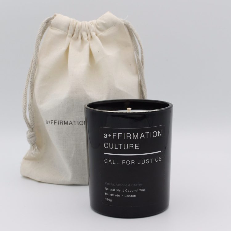AffirmationCulture Call For Justice Candle