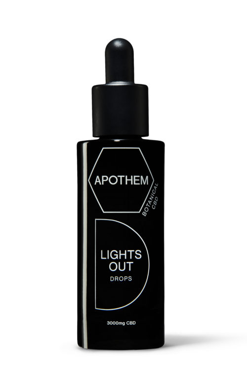 Apothem LIGHTS OUT drops front (30ml) £170