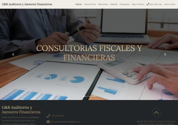 Sucursal Digital de G&R Auditores