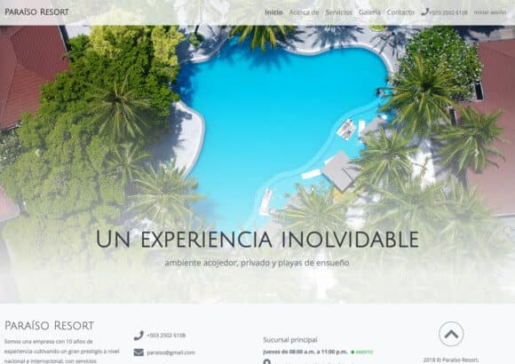 Sucursal Digital de Paraíso Resort