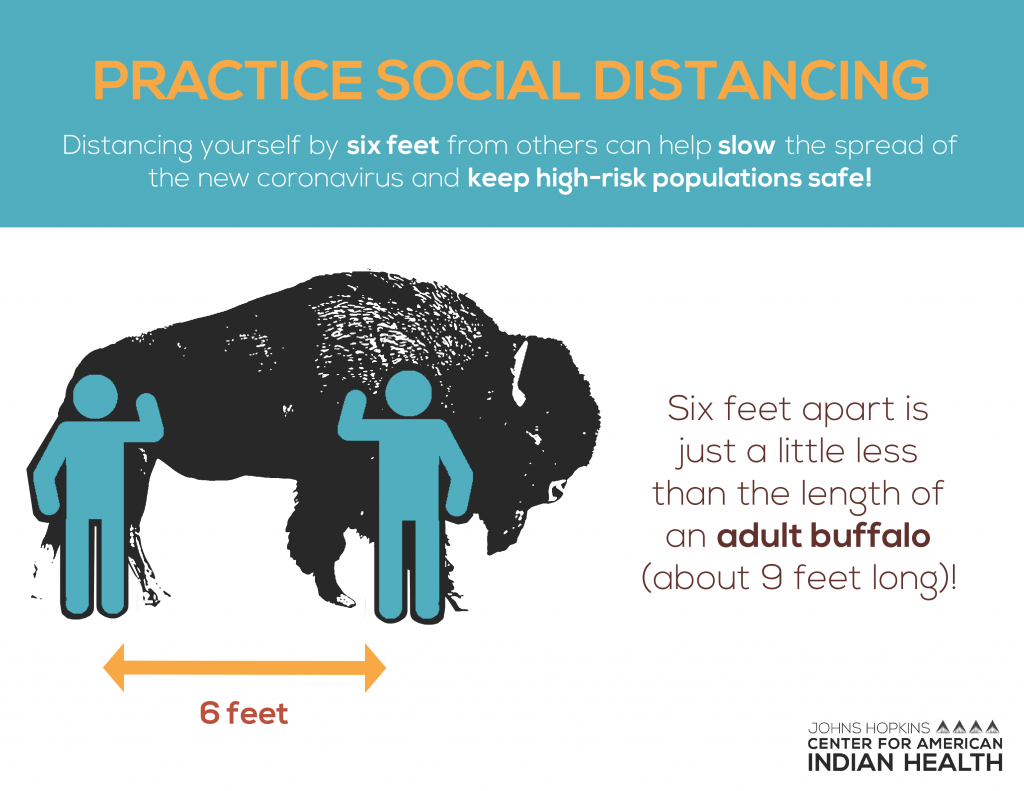Social Distancing with Animals Social Media Graphics