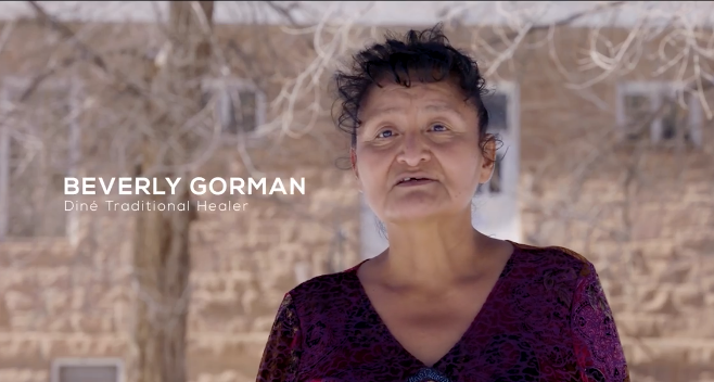 Beverly Gorman, Diné Traditional Healer Talks about the COVID-19 Vaccine