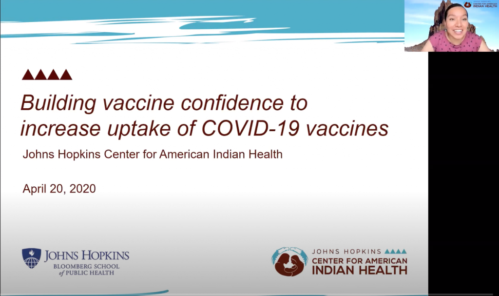 Building COVID-19 Vaccine Confidence in Native Communities Part 1