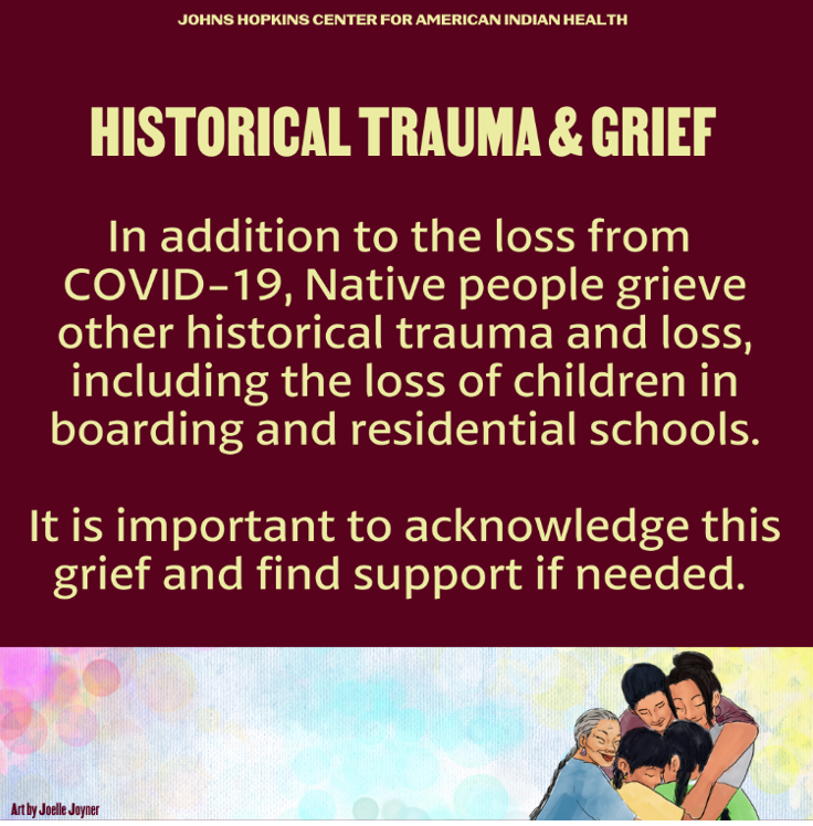 Dealing with COVID-19 Loss: Historical Trauma & Grief