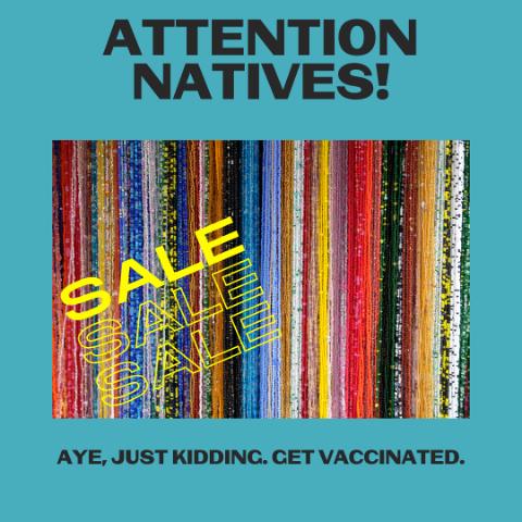 Attention Natives