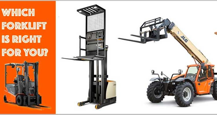 Types of Forklifts buying guide