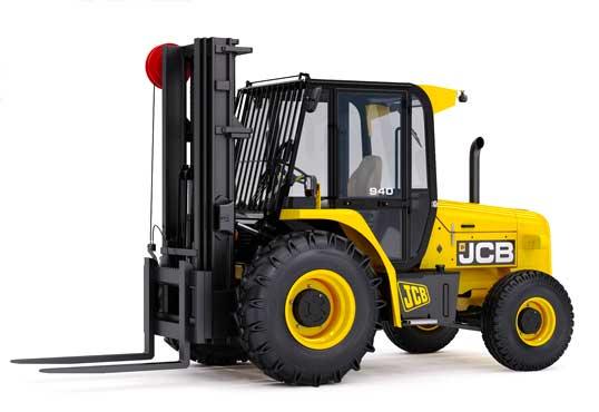 JCB Rough Terrain Forklift types of forklifts