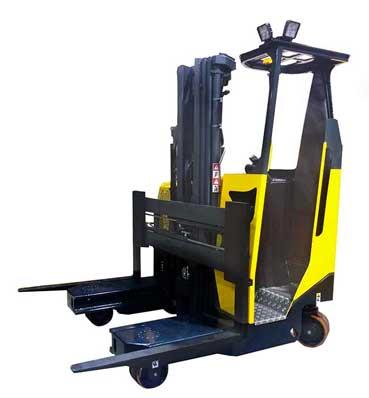 Side loader narrow aisle forklift types of forklifts