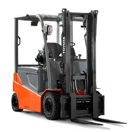 Toyota warehouse types of forklifts