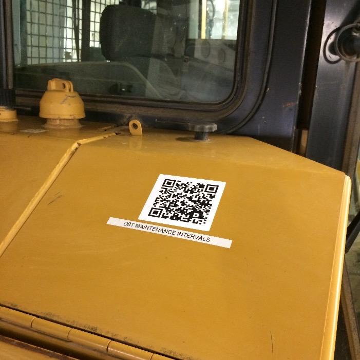 Fleet Maintenance QR code