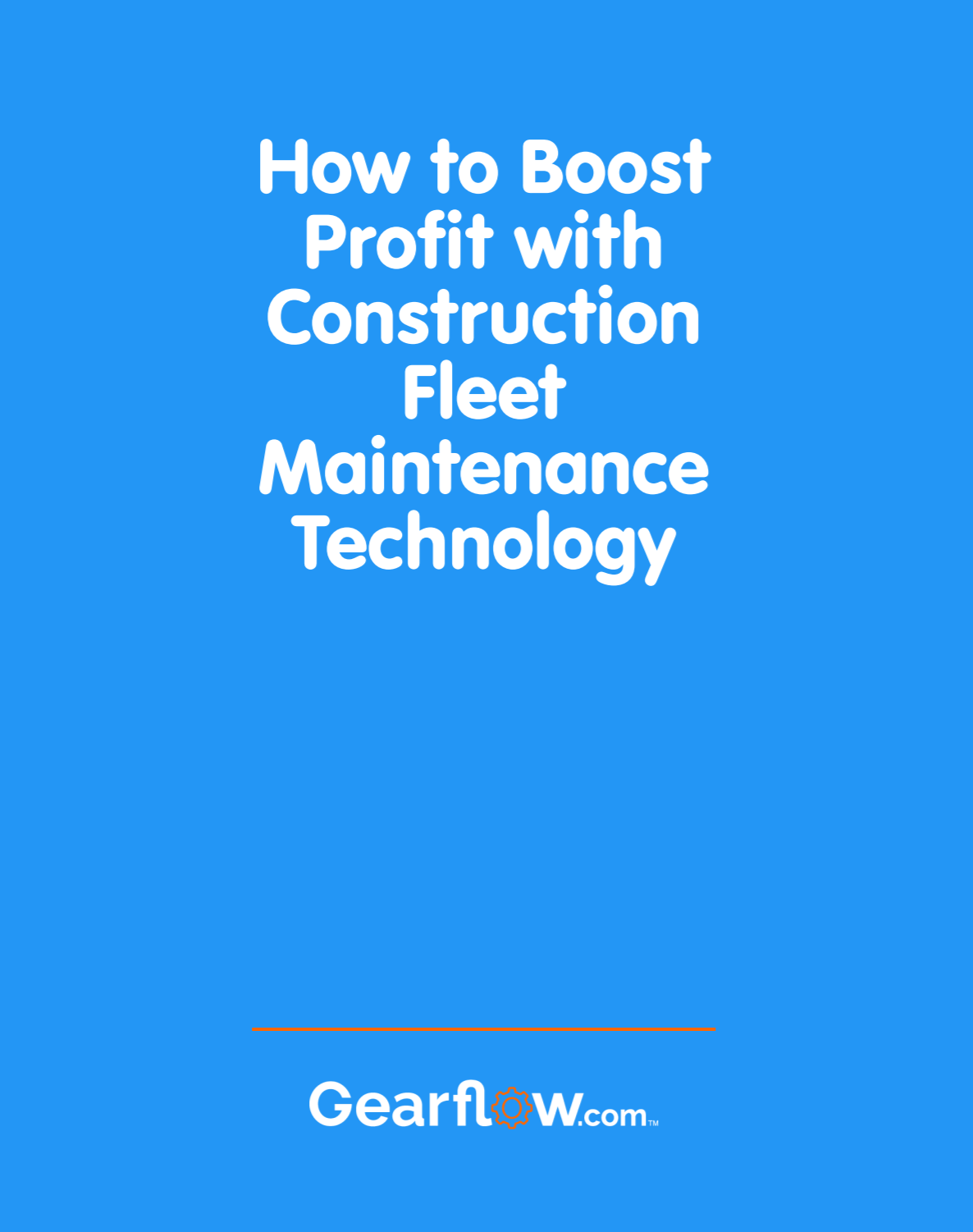 Learn how you can move maintenance from a cost center to a margin maker with this free download.
