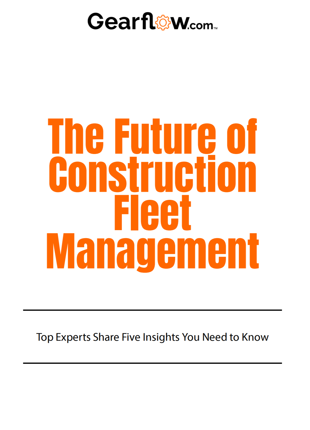 Learn expert's insights for the future of fleet management with this free download.