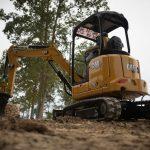 Cat excavator tracks