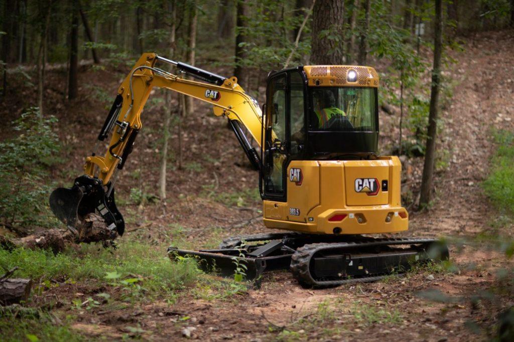 Cat mini excavator tracks