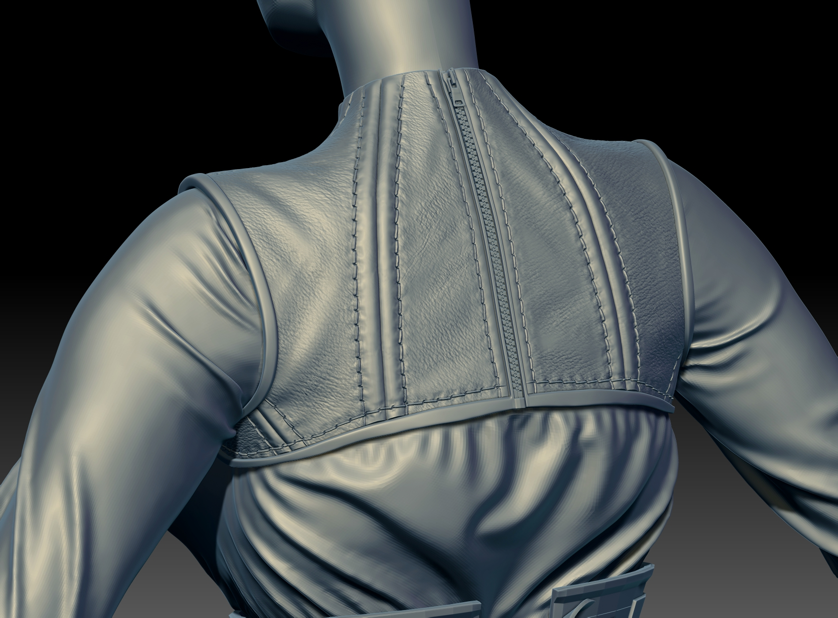 CGMEETUP - Stich leather for Zbrush in GUMROAD by Sebastien Levieux