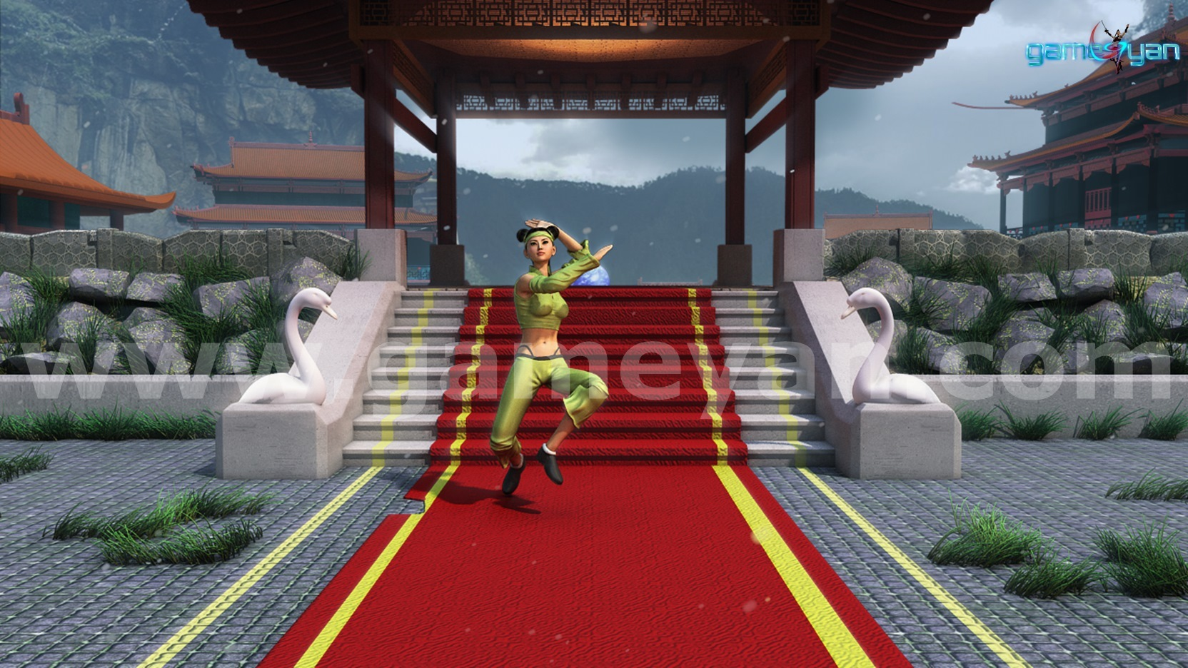 CGMEETUP - Nikki – 3D Kung-Fu Female Fighter Realistic Character