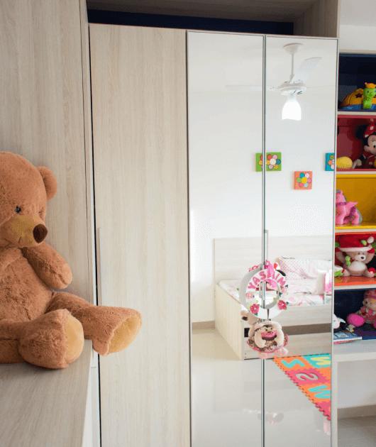Dormitório Infantil com Brinquedoteca