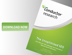 Conductor The Unoptimized SEO Research Study