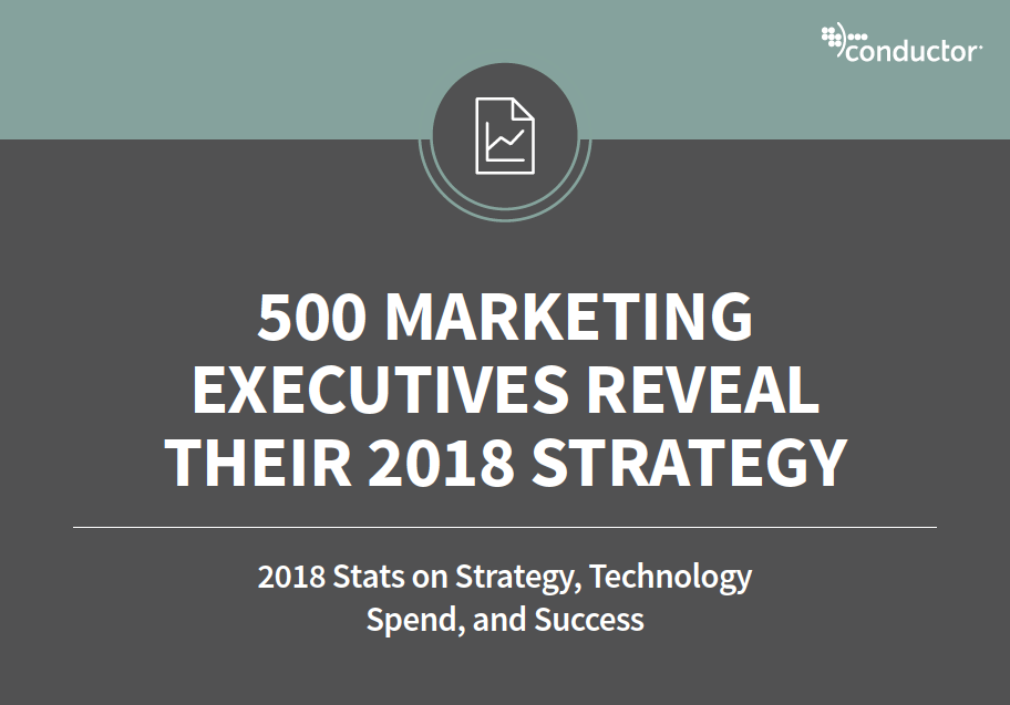 How are marketing executives planning their marketing and technology budgets for 2018?