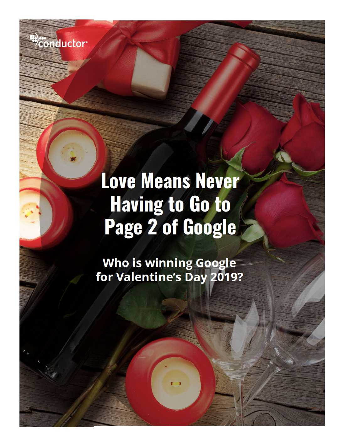 Conductor's Valentine's Day SEO research for 2019 reveals new insights into seasonal retail marketing.