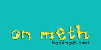 Meth Handmade Font