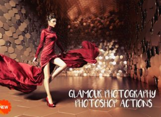 Free Glamour Photography Photoshop Actions
