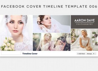 Facebook Cover Timeline Template 6