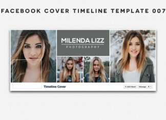 Free Facebook Cover Timeline Template 7