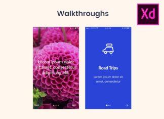 20 Screens Walkthrough UI