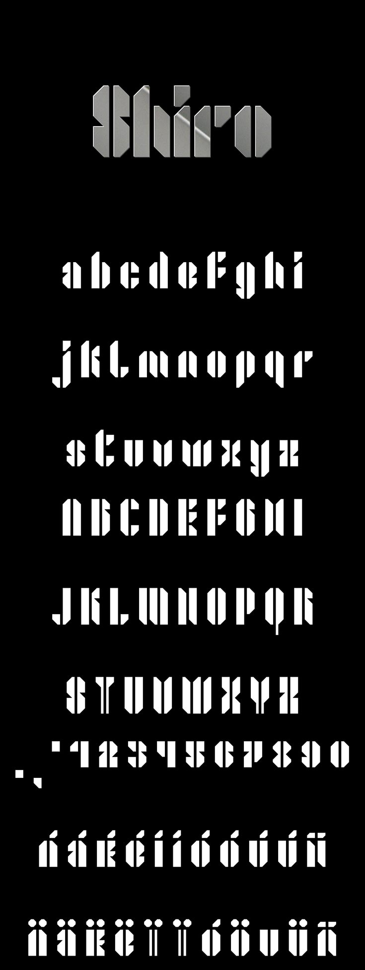 Free Shiro Fancy Font