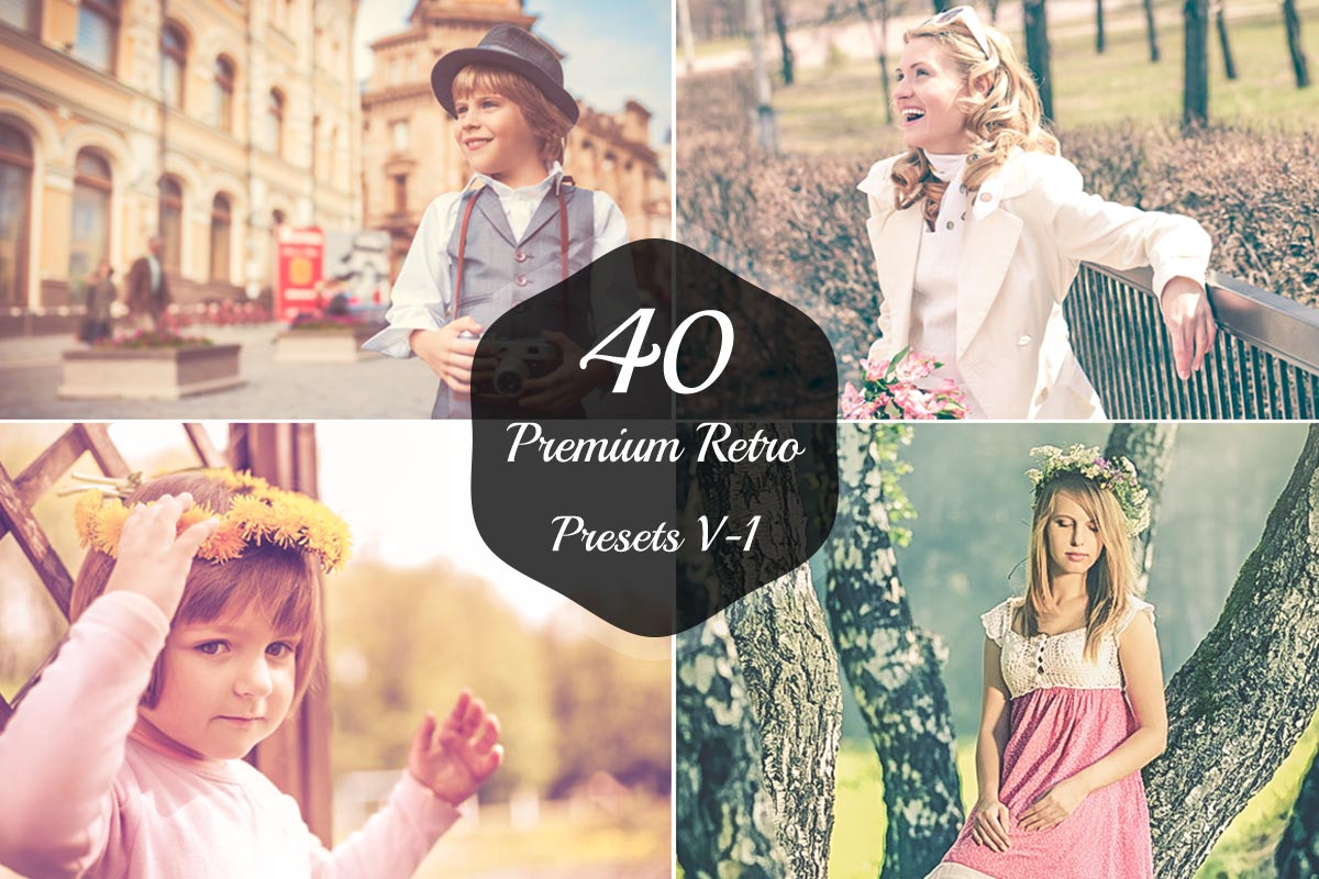 40 Free Retro Lightroom Presets