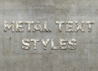 Free Metal Text Styles