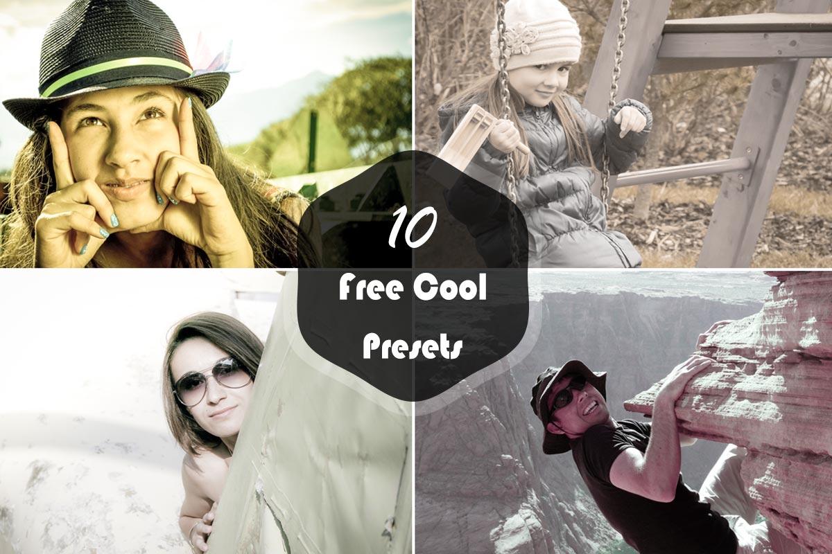 10 Free Cool Lightroom Presets