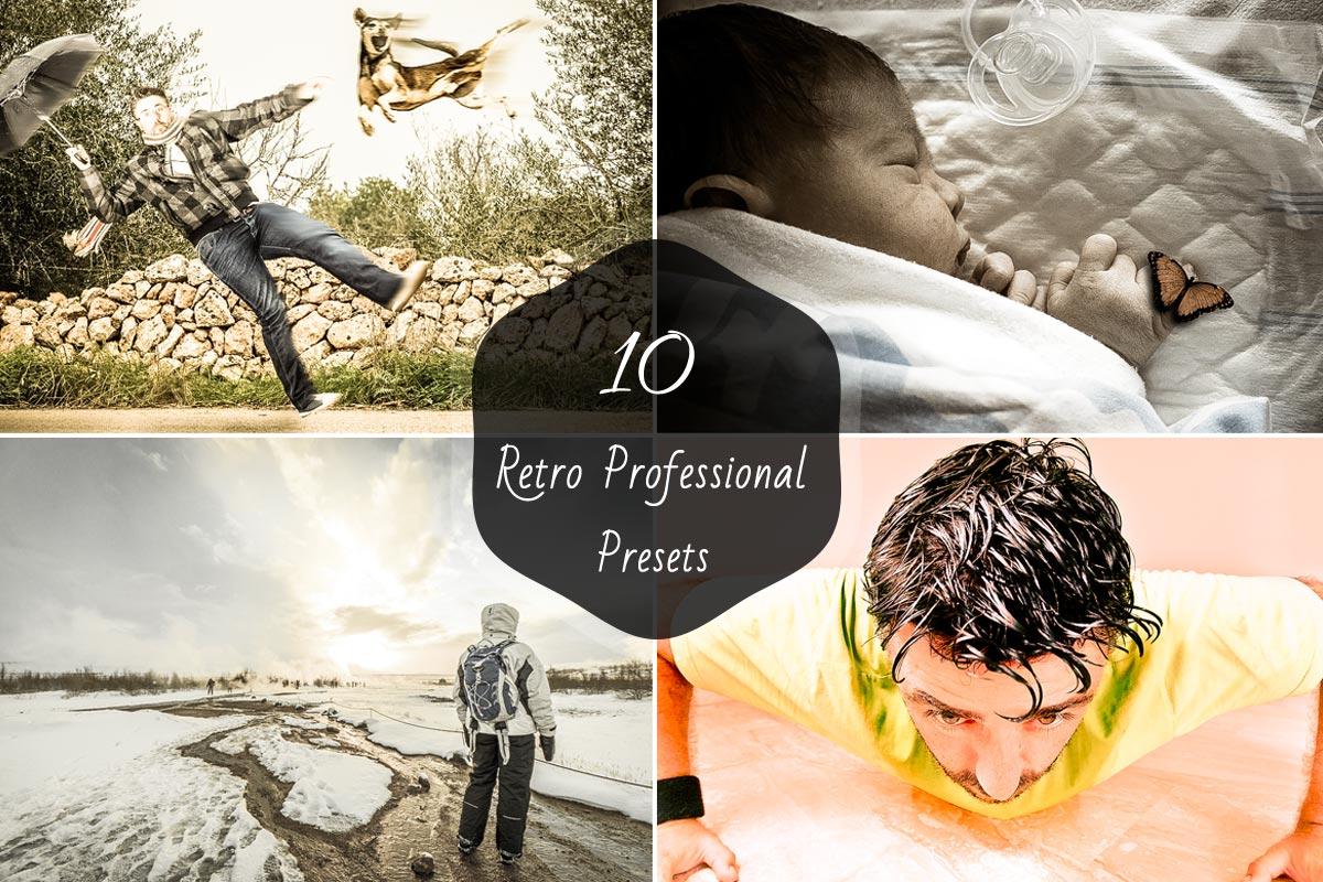 10 Free Retro Lightroom Presets