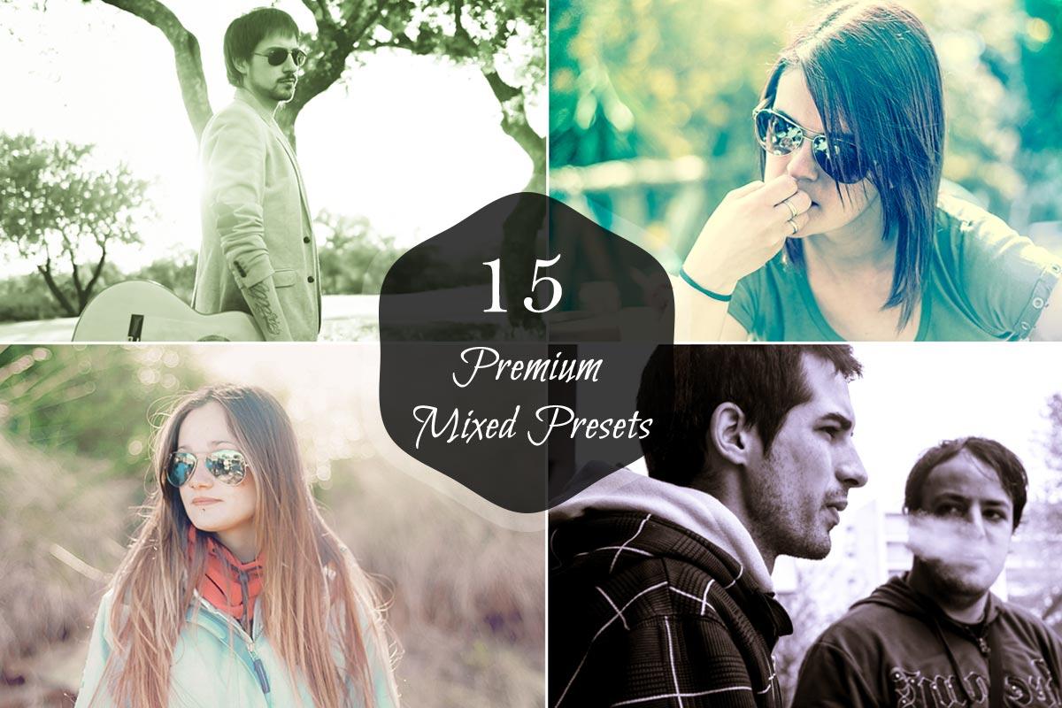 15 Free Mixed Lightroom Presets