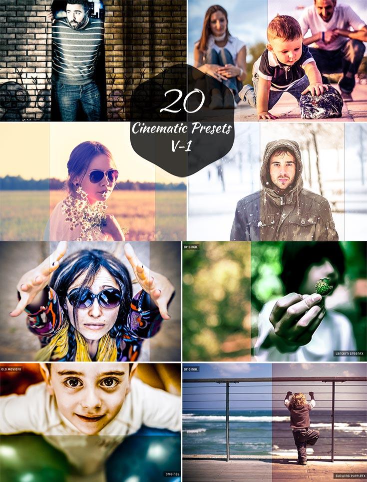 20 Free Cinematic Lightroom Presets