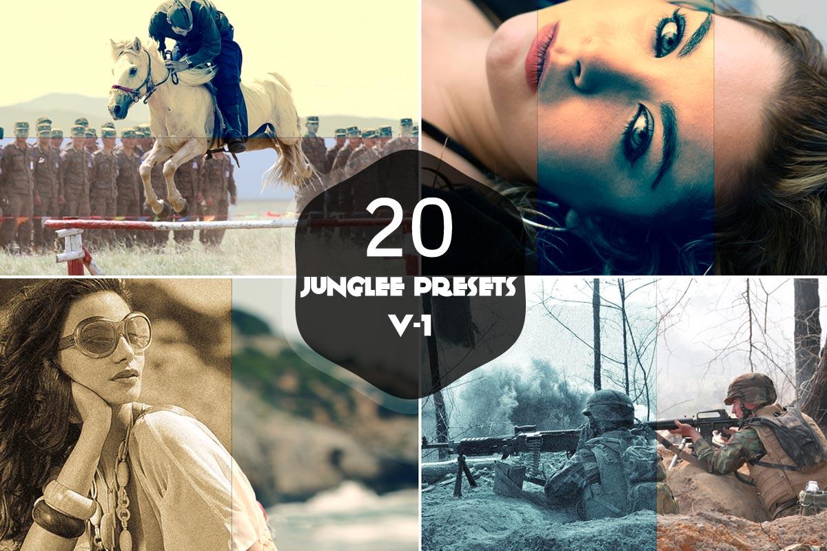 20 Free Junglee Lightroom Presets