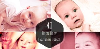 40 Free Born Baby Lightroom Presets