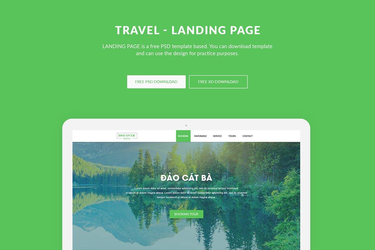 Free Travel Landing Page