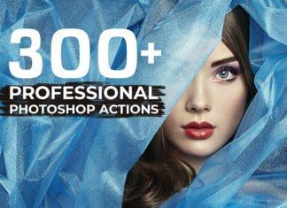 300+ Free Professional Photoshop Actions Bundle