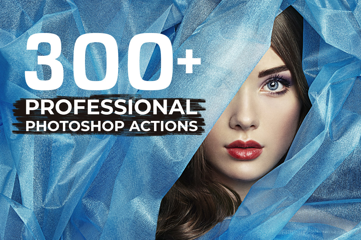 300+ Free Professional Photoshop Actions Bundle