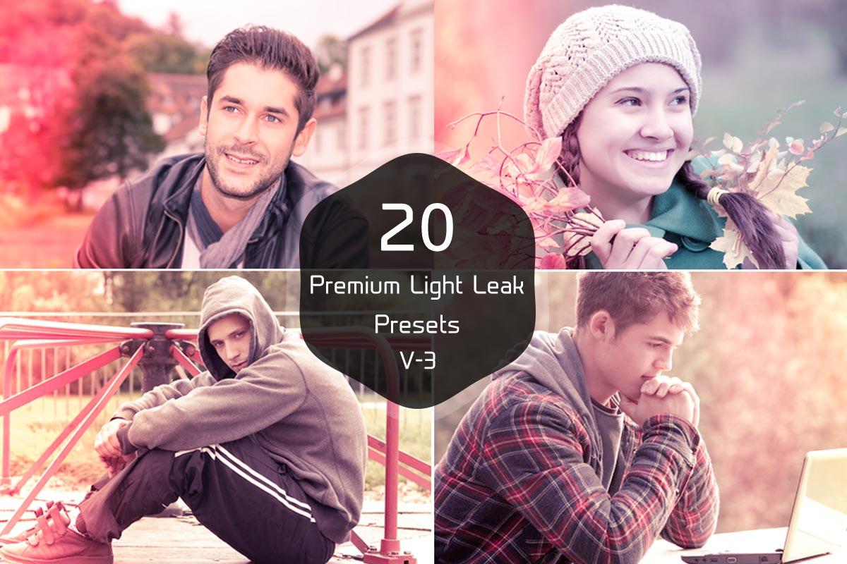 Free Light Leak Lightroom Presets