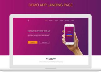 Free Money Exchange App Landing Page Design PSD