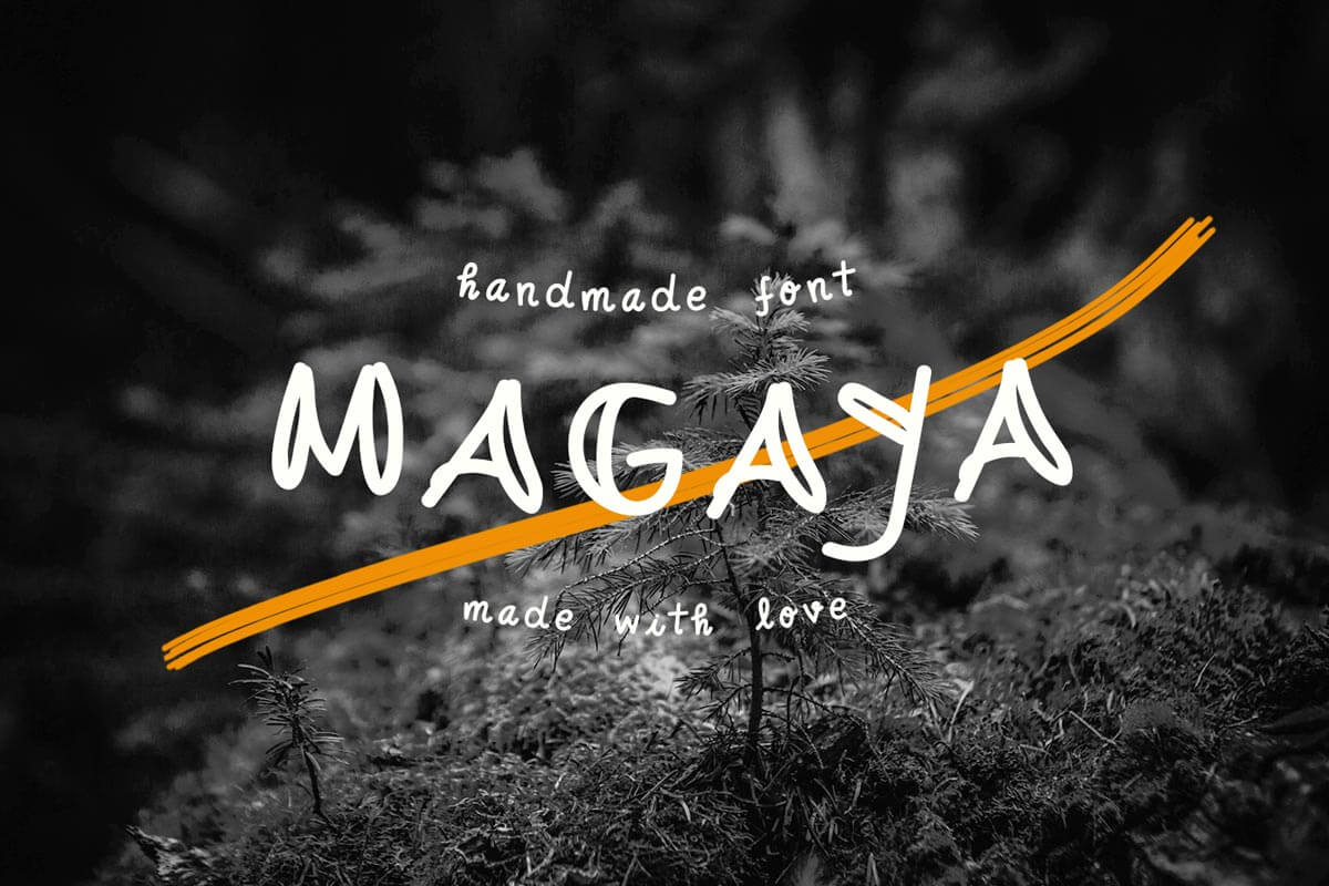 Free Magaya Handmade Font