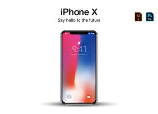 Free iPhone X Vector