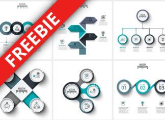 Infographics Templates Bundle Freebie