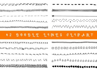Free Doodle Lines Clipart