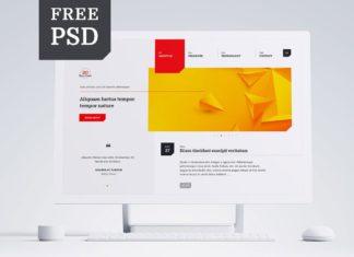Free Multipurpose PSD Template Vol. 1