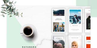 Free Dayanara Instagram Stories Templates